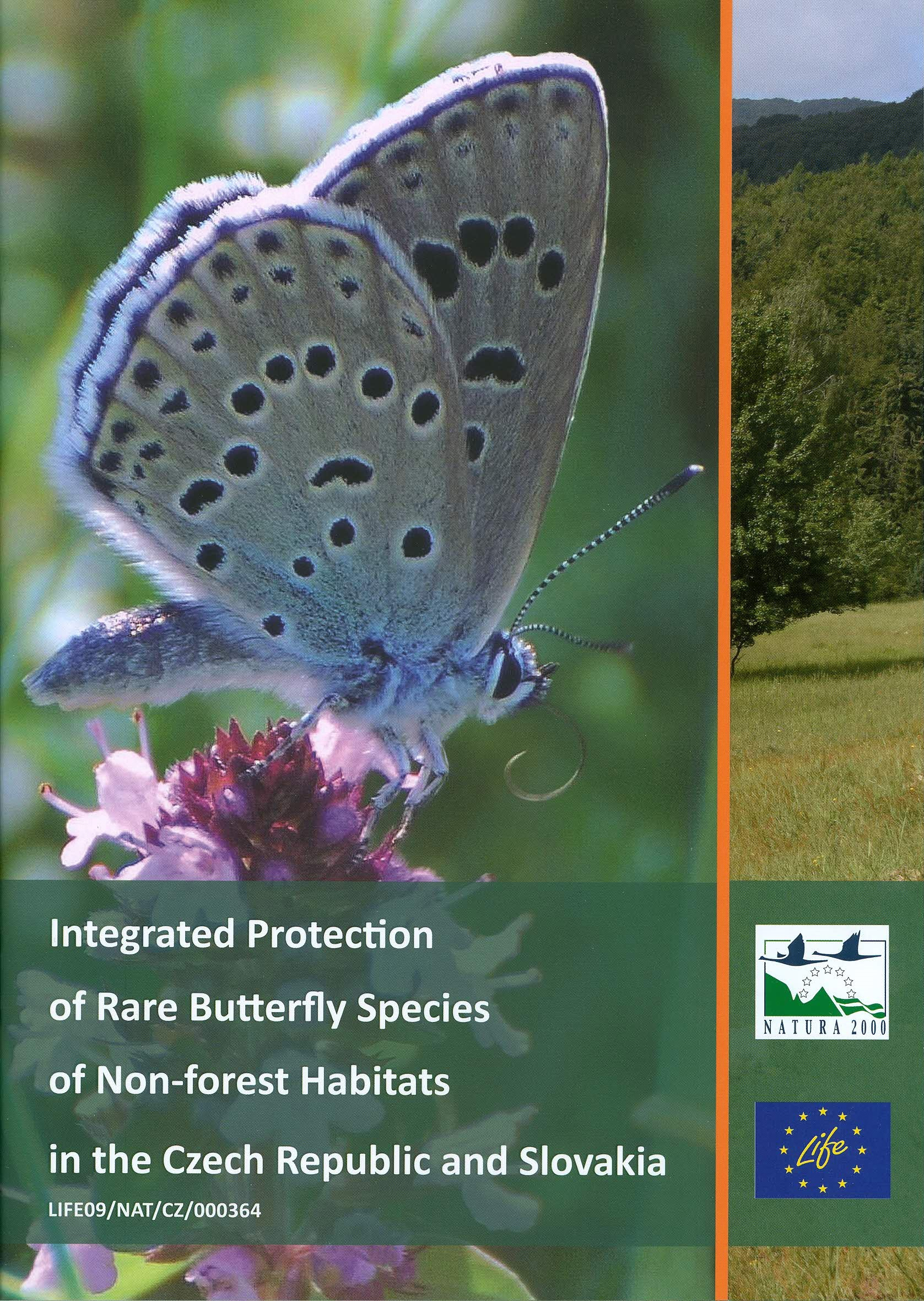 Integrated Protection of Rare Butterfly Species of Non-forest Habitats - CZ, SK